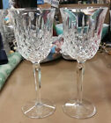 2 - Vintage Waterford Crystal Kelsey Water Wine Glass Seahorse mark 8 1/2