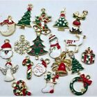 Ornaments Charms Metal Tree Ornament Alloy Christmas Decoration 19pcs Set
