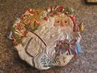 Fitz and Floyd Classics ENCHANTED HOLIDAY Canape Plate NIB