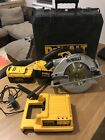 Dewalt 36v Circular Saw DC300 2x Lion Batteries Charger +box