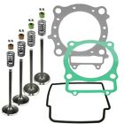 CYLINDER INTAKE EXHAUST VALVE GASKET KIT Fits HONDA TRX450R Kick Start 2006-2012