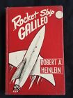 1947 ROCKET SHIP GALILEO by Robert Heinlein 1st Ed Hardcover Red Cloth Rare