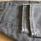 Vintage USA Made Distressed Grey Levis 505s 34W x 30L