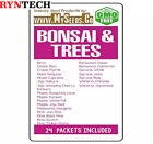 Bonsai  Trees Seeds COMBO KIT from Birch to Wisteria Japanese Seeds By