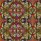 Bold Bright Large Tribal Fabric Printed by Spoonflower BTY