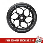 Fasen 120mm Black Metal Core Scooter Wheel inc Bearings