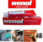 WENOL 50g Metal Polishing Cream Cleans Brass Copper Silver Stainless Chrome Gold