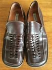 Aldo Mens VERO CUOIO 115 Shoes Casual Slip On Brown Leather Made In Italy 45