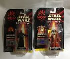 Lot of 2 Star Wars Episode I Darth Maul Sith Lord and Queen Amidala Coruscant