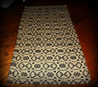 ~*Primitive Colonial Early Style Hampton Weave Short Table Runner*~
