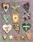 LIFES JOURNEY HEARTS  STARS EPOXY STICKERS CLEARLY YOURS by K  CO WYFE
