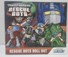 TRANSFORMERS RESCUE BOTS book-RESCUE BOTS ROLL OUT #0-HTF-BOTCON Giveaway!