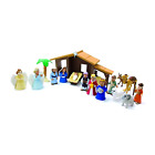Nativity Playset Christmas Toys Children 19 Pieces With Mary Joseph Baby Jesus