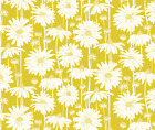 Daisies Daisy Yellow Meadow Fabric Printed by Spoonflower BTY