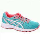 Womens Asics JOG100 PLYMOUTH T7K8N 8393 Green Peach Lace Up Sneaker Shoes