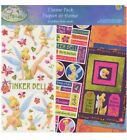 Sandy Lion Fairy Theme Pack Tinkerbell Scrapbook Paper kit W Stickers