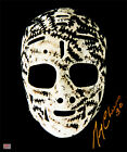 Autographed Gerry Cheevers The Mask 11x14 Photo - Boston Bruins