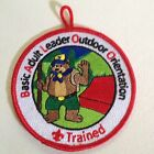 BALOO trained patch Cub Scout BSA Boy Basic Adult Leader Outdoor Orientation