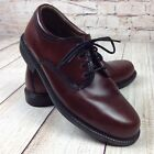 Bass  Co Chase Mens Classic Oxford Shoes Size 85 Wide Leather Brown
