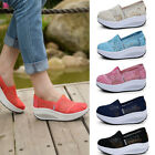 Womens Lace Platform Shoes Shape Ups Toning Fitness Sneakers Walking Sports
