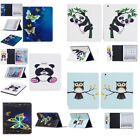 For Apple iPad Series Art Color Painting Design Magnetic PU Leather Case Cover X