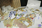 USA Stamp Collection Box lot from Estate Unchecked Cover Loose On Paper F