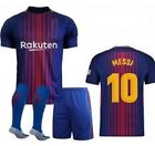 Barcelona 10 MESSI Navy Blue Home Kids Jersey Shorts  Socks Youth All Sizes