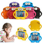 Cartoon Kids Cute EVA Shockproof Handle Stand Case Cover For iPad Mini 1 2 3 4