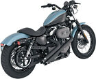 Vance  Hines 46035 Sideshots 2 into 2 Full Exhaust System Black