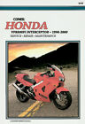 CLYMER Repair Manual for Honda VFR800FI Interceptor 1998-2000