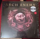 Arch Enemy Will To Power LTD DELUXE CD+TRANSP. RED LP+BLACK 7INCH BOX SET signed