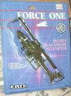 1987 ERTL FORCE ONE HUGHES US ARMY AH 64 APACHE ATTACK HELICOPTER Diecast 8+