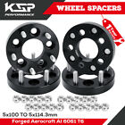 5X100 to 5x1143 Wheel Adapters for Toyota Dodge 12x15mm for Chevy Cavalier Mat