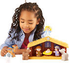 Figures Little People Nativity Fisher Price Christmas Toys Gifts 10 Pieces Set