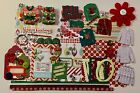Ugly Christmas Sweater Party Chipboard Mini Book Album DIY Kit Scrapbook