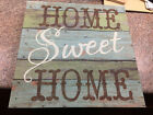 HOME SWEET HOME CANVAS WRAPPED WALL DISPLAY