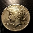 1921 Liberty Peace Silver Dollar Good Luster Harder to Find Key Date Free S H