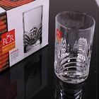 Whiskey Glasses Set of 6 Crystal Tumbler Drinking Scotch Bourbon Bar Glass Cups