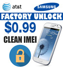 UNLOCK CODE ATT SAMSUNG GALAXY S8 S8+ S7 S6 NOTE 5 4 ACTIVE  EDGE CLEAN IMEI