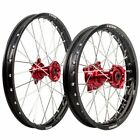 Honda CRF150R 2007–2019 & Expert Model Tusk Impact 17/14 F/R Red/Black Wheel Kit