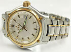EBEL LADIES 1911 TWO TONE 18K YELLOW GOLD & STAINLESS STEEL WHITE DIAL LOVELY!!!
