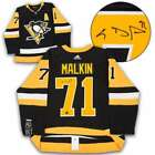 Evgeni Malkin Pittsburgh Penguins Autographed Adidas© Authentic Hockey Jersey