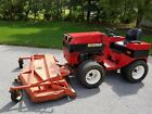 STEINER Tractor 72 Mower Flip up Deck MD472