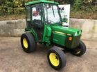 JOHN DEERE 955 4WD COMPACT TRACTOR 33HP ROAD REGISTERED HYDROSTATIC FULL CAB