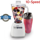 10 Speed Blender Machine Fresh Fruit Shaker Drinks Mixer Juice Maker Plastic Jar