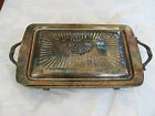 OLDER SERVING DISH WITH LID --  VERY ORNATE AND PRETTY!