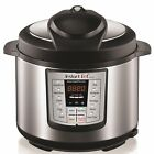 Instant Pot LUX60 V3 6 Qt 6-in-1 Muti-Use Programmable Pressure Cooker, Slow and