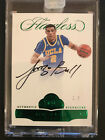 LONZO BALL 2017-18 Panini Flawless Rookie AUTO #2 5 CARD IS JERSEY NUMBERED! 1 1