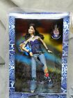 Barbie Hard Rock Cafe Doll 2005 Brunette Blue Bustier Heart Flare Jeans NIB Rare