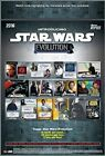 2016 Topps Star Wars EVOLUTION Collector's Trading Cards Hobby Box - 24 Packs 8